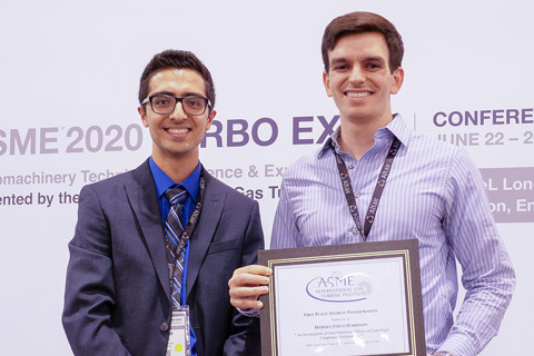 Turbo Expo First Place Student Poster Winner